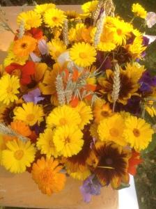 Blommor till bord